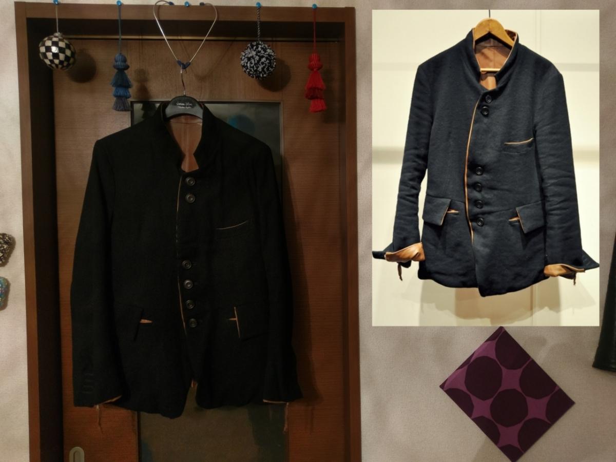 送料無料 レア 定価182,520円 soloist poker face jacket XS ソロイスト ポーカーフェイスジャケット ナンバーナイン レザー リバーシブル