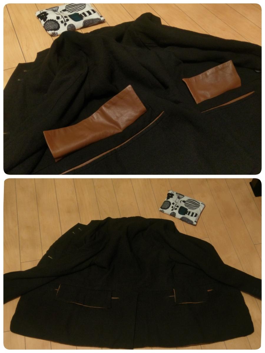 送料無料 レア 定価182,520円 soloist poker face jacket XS ソロイスト ポーカーフェイスジャケット ナンバーナイン レザー リバーシブル_画像5