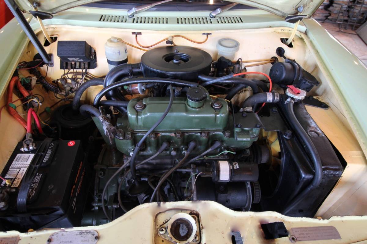 '69オースチン アメリカ 2ドア!ガレージ保管車!2オーナー車! 即決! 最落なし!珍しい2ドアです!!_画像5