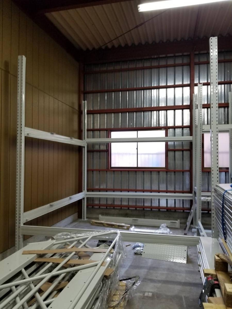 中二階スチールロフトラック(階段なし、連結可能)貸工場、倉庫内の空間有効活用/メザニン・ステージ・フロア・カーポート車庫で使用可能_画像6