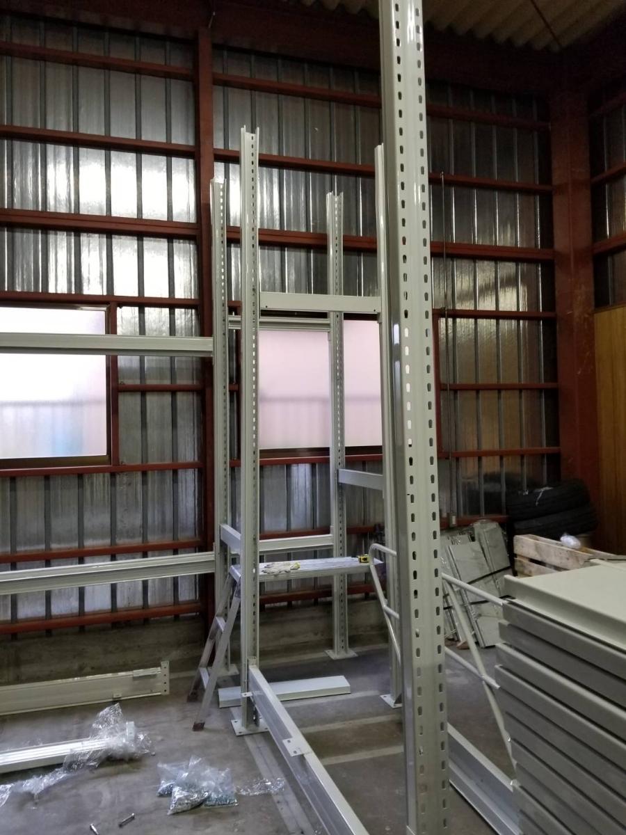 中二階スチールロフトラック(階段なし、連結可能)貸工場、倉庫内の空間有効活用/メザニン・ステージ・フロア・カーポート車庫で使用可能_画像7