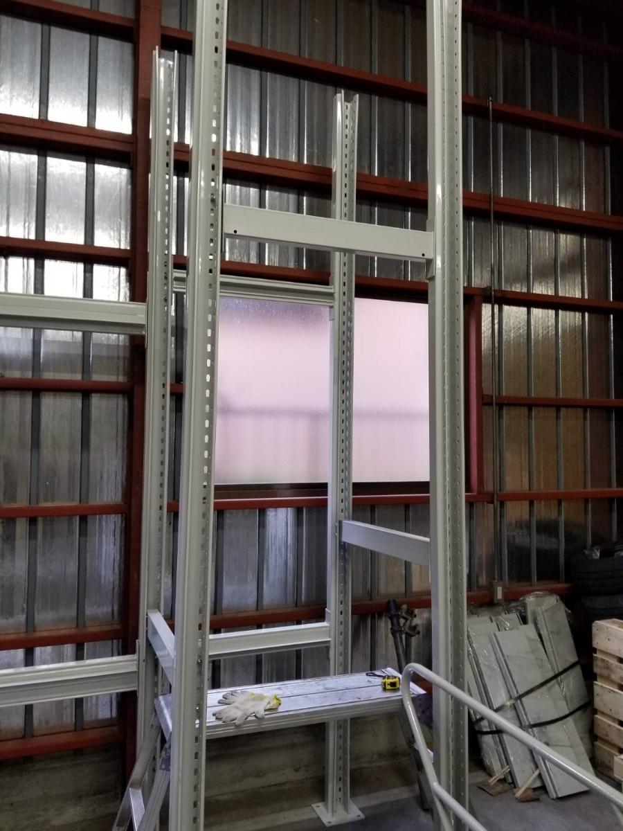 中二階スチールロフトラック(階段なし、連結可能)貸工場、倉庫内の空間有効活用/メザニン・ステージ・フロア・カーポート車庫で使用可能_画像8
