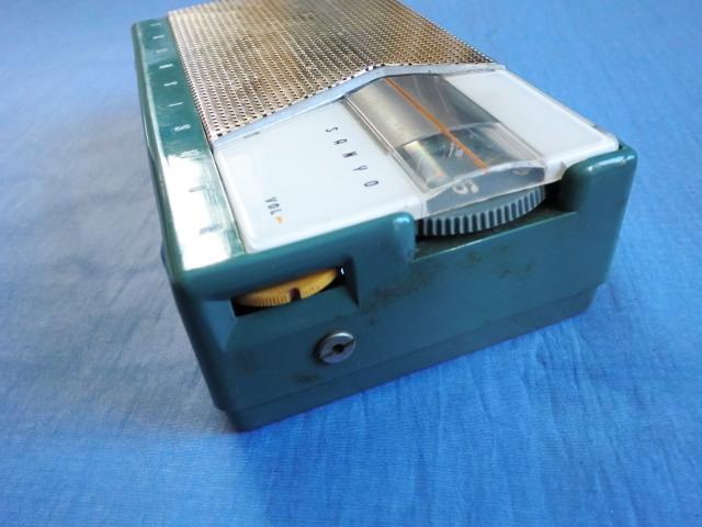 サンヨー SANYO TRANSISTOR  トランジスターラジオ 6C-10 ジャンク_画像10
