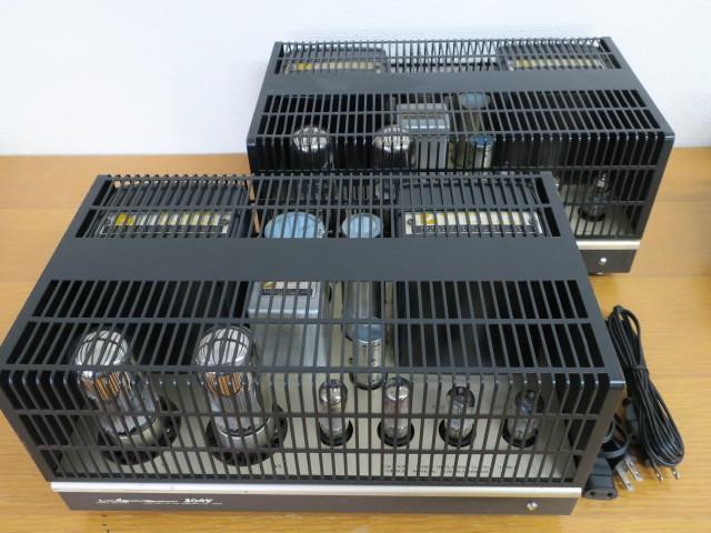 動作品 LUXMAN MB3045 真空管パワーアンプ ペア
