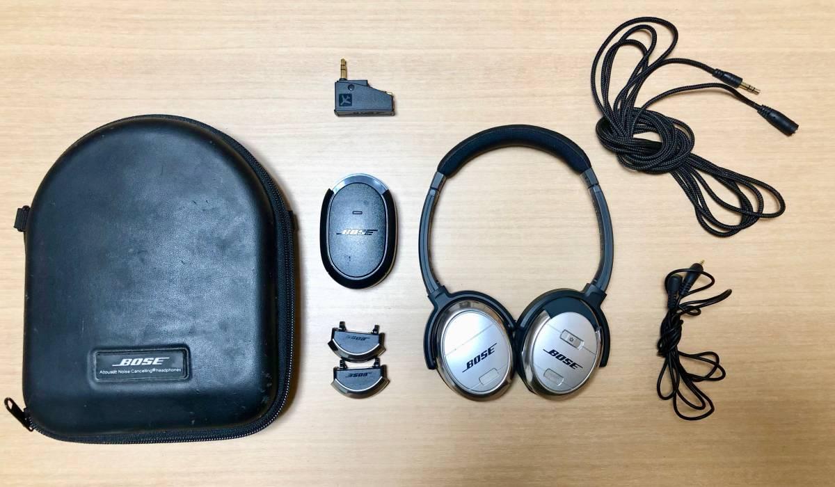 1円スタート 最落なし Bose ボーズ QuietComfort 3 Acoustic Noise Cancelling headphone
