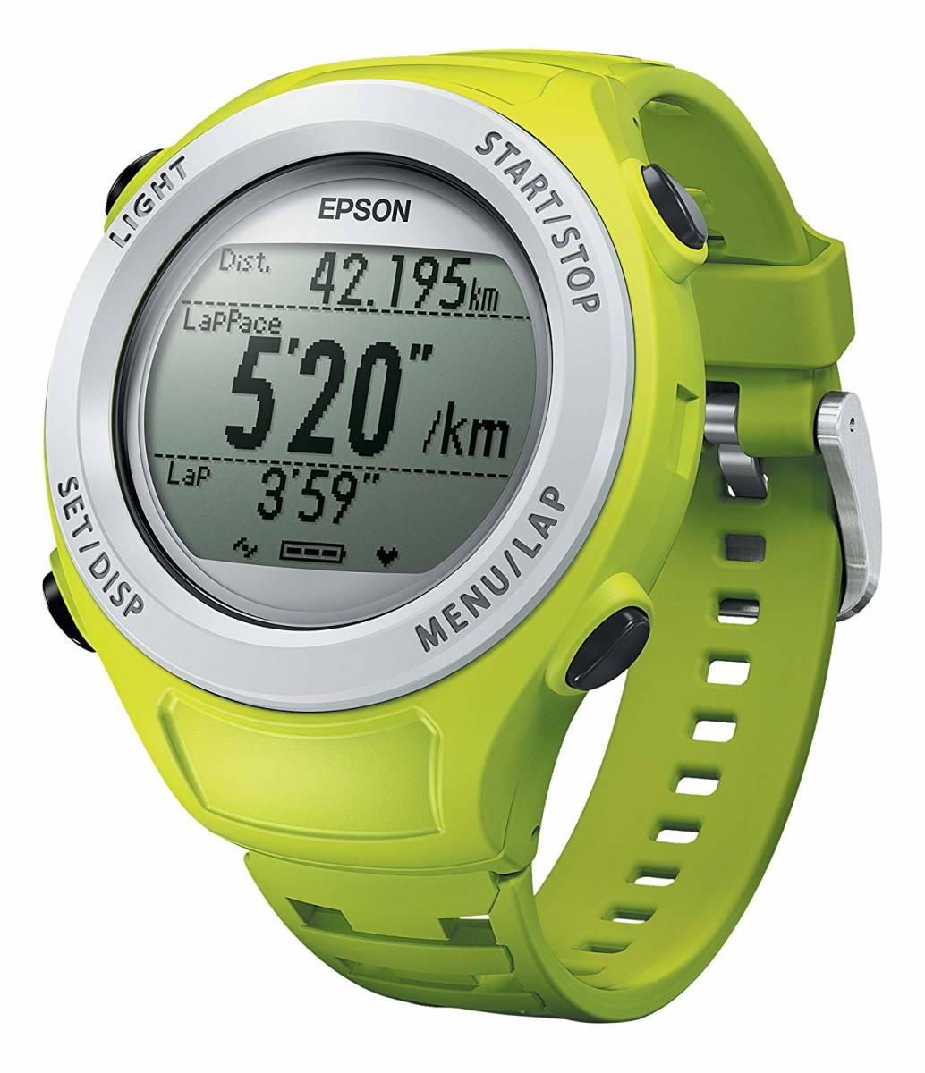 ★最終値下げ&送料無料★EPSON Wristable GPS 腕時計 GPS機能付 SF-110G お安く即決!_画像3
