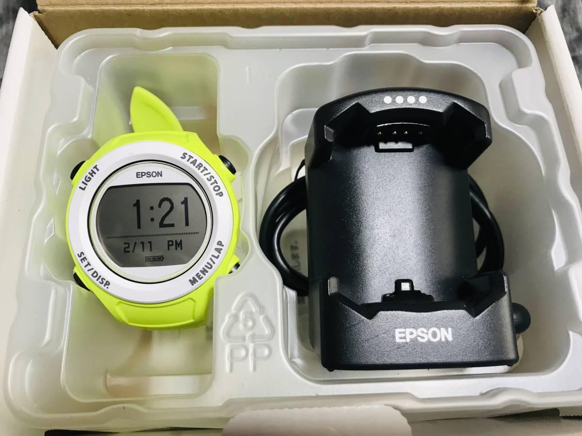 ★最終値下げ&送料無料★EPSON Wristable GPS 腕時計 GPS機能付 SF-110G お安く即決!_画像1