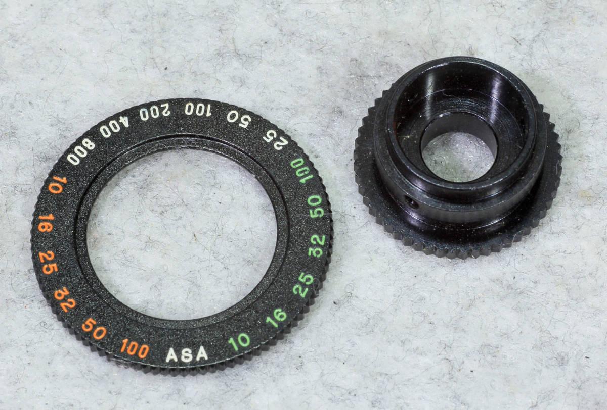 ☆ASAHI PENTAX アサヒペンタックス S2 シャッターダイヤル(1/500 まで)と感度表示環のセット です!!!_画像3