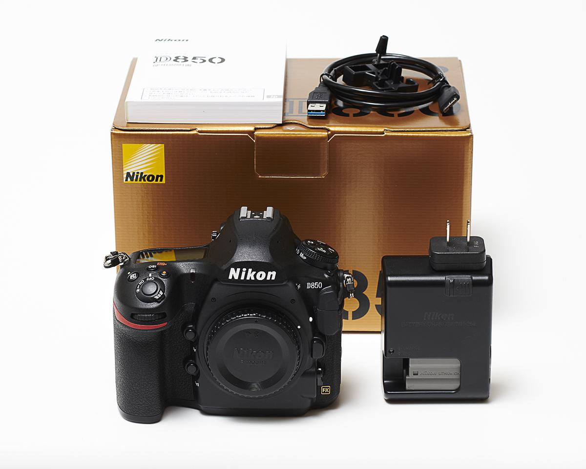 [ 超美品 ] Nikon ニコン D850 ボディ 元箱+付属品完備!1円スタート!キタムラ5年保証付き!ニコンSC点検/製造済み!拍卖