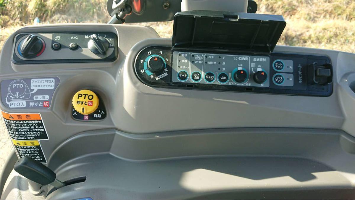 クボタ トラクター KL5150 846時間  キャビン パワステ 四駆 51馬力 パワクロ クローラ 琵琶湖発_画像6