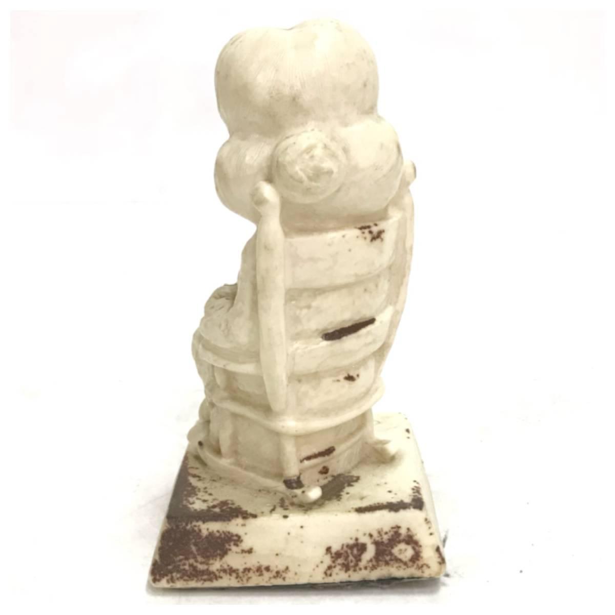 メッセージドール WORLD'S GRATEST GRANDMA シリースカルプス インテリア 小物 雑貨 置物 レトロ オールド ビンテージ アンティーク D-1385_画像2