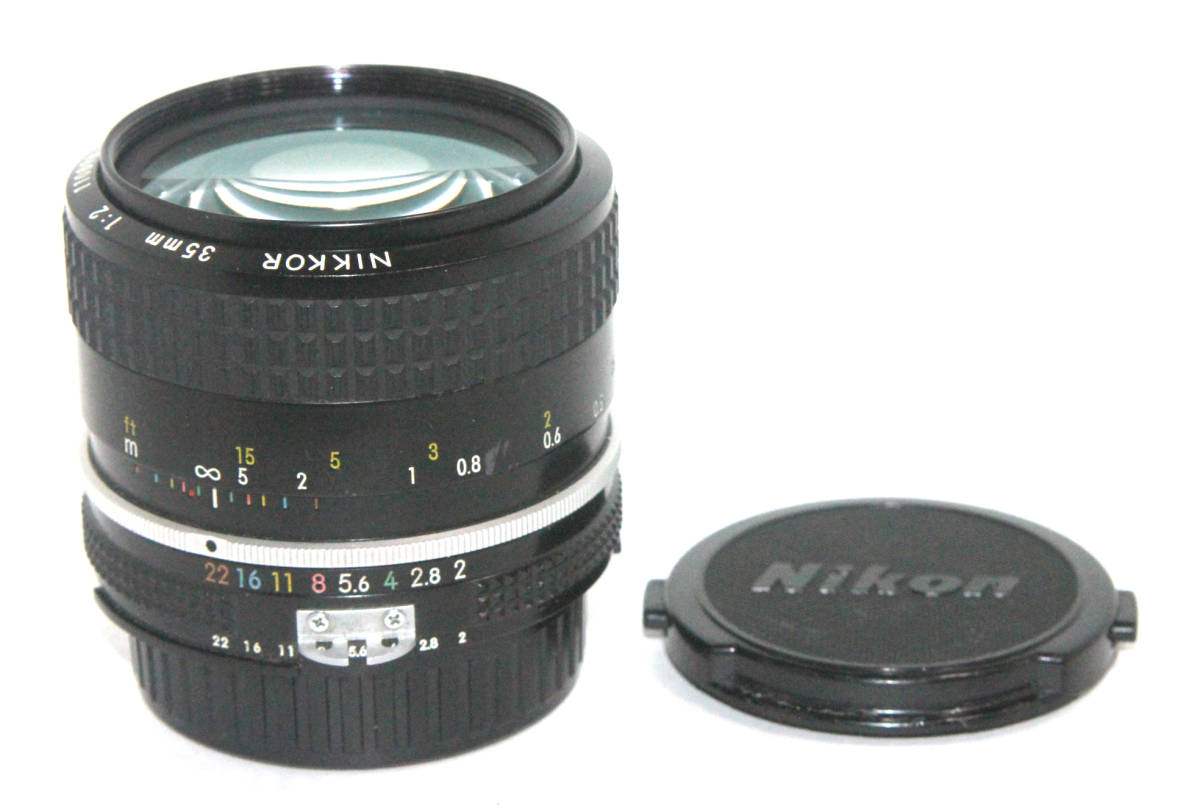 Nikon ニコン NIKKOR 35mm F2 Ai 単焦点レンズ拍卖