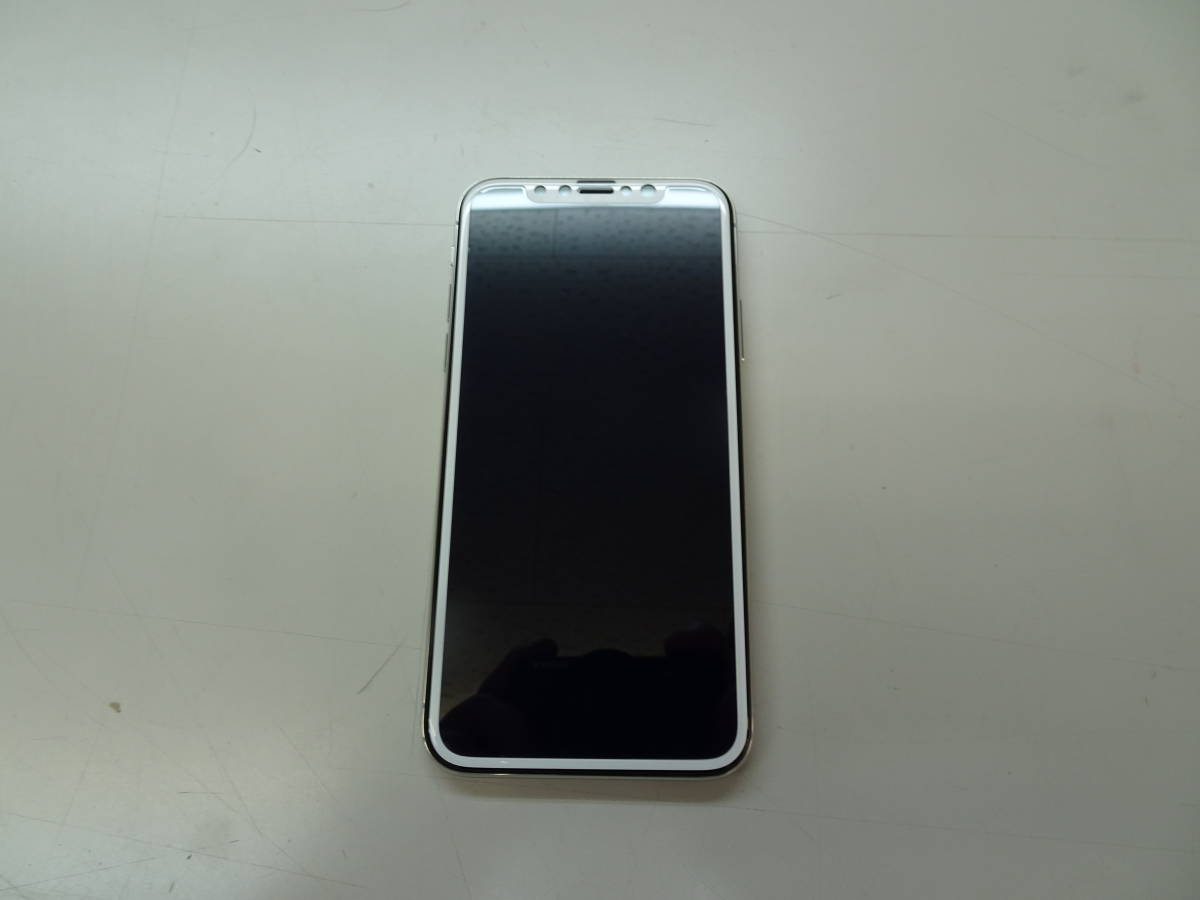 DoCoMo iPhoneX 256GB シルバー SIMロック解除済み_画像2