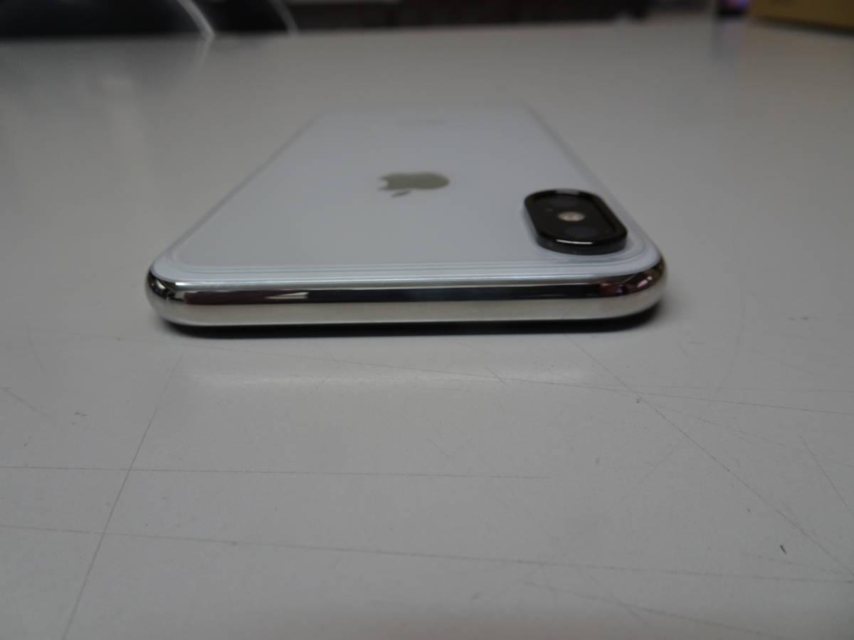 DoCoMo iPhoneX 256GB シルバー SIMロック解除済み_画像7