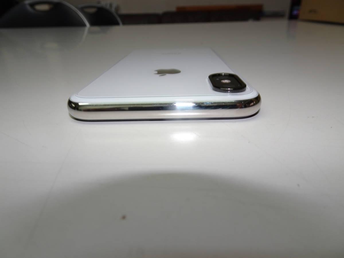 DoCoMo iPhoneX 256GB シルバー SIMロック解除済み_画像8