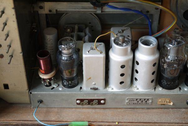 SD469020722 ナショナル真空管ラジオ ■ジャンク扱い/NATIONAL SNAP SUPER BX-250/動作未確認/スロデパ_画像7