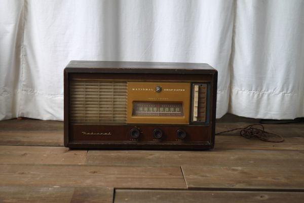 SD469020722 ナショナル真空管ラジオ ■ジャンク扱い/NATIONAL SNAP SUPER BX-250/動作未確認/スロデパ