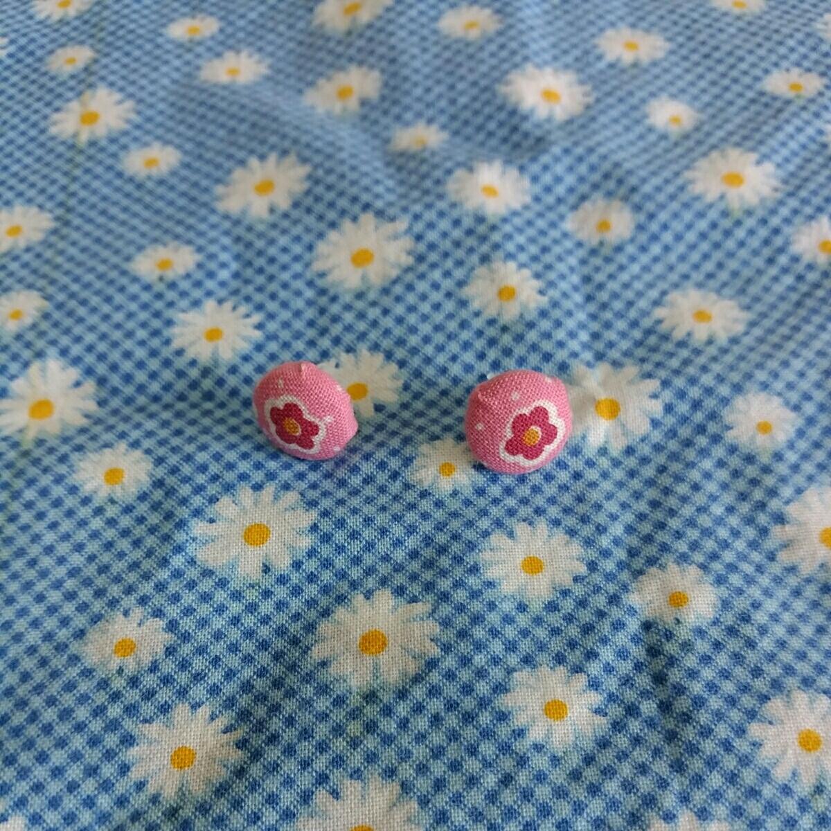 Cute Crull Button Piercing 4 ☆ Handmade