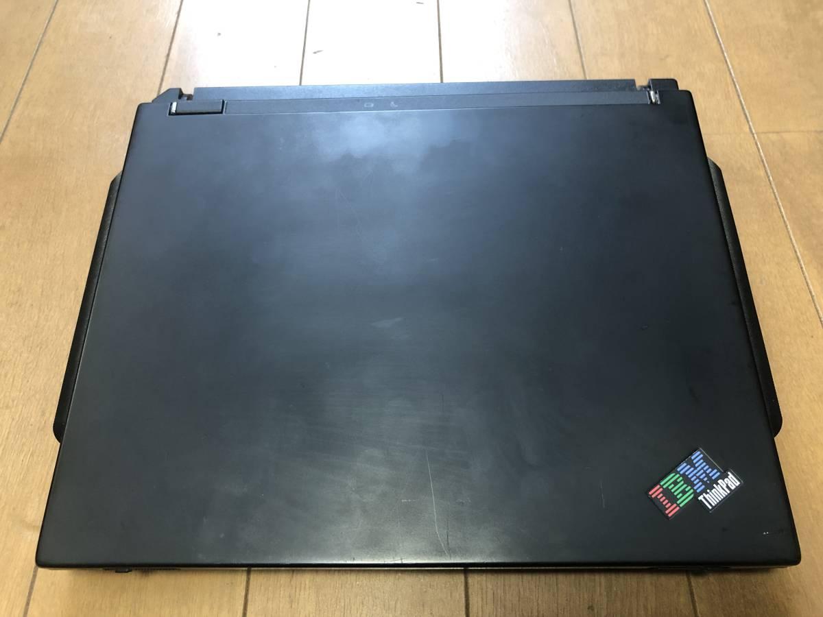 ThinkPad s30 2639-42J PIII600 256MB 15GB 10.4TFT WinXP SP3_画像10