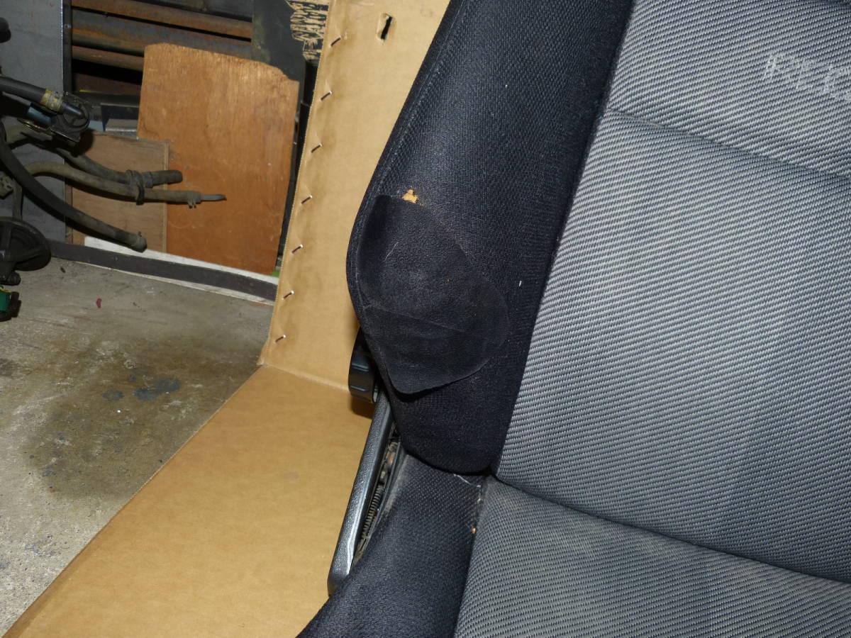 レカロ RECARO セミバケットシート 右用 運転席用 LX? 旧車_画像8