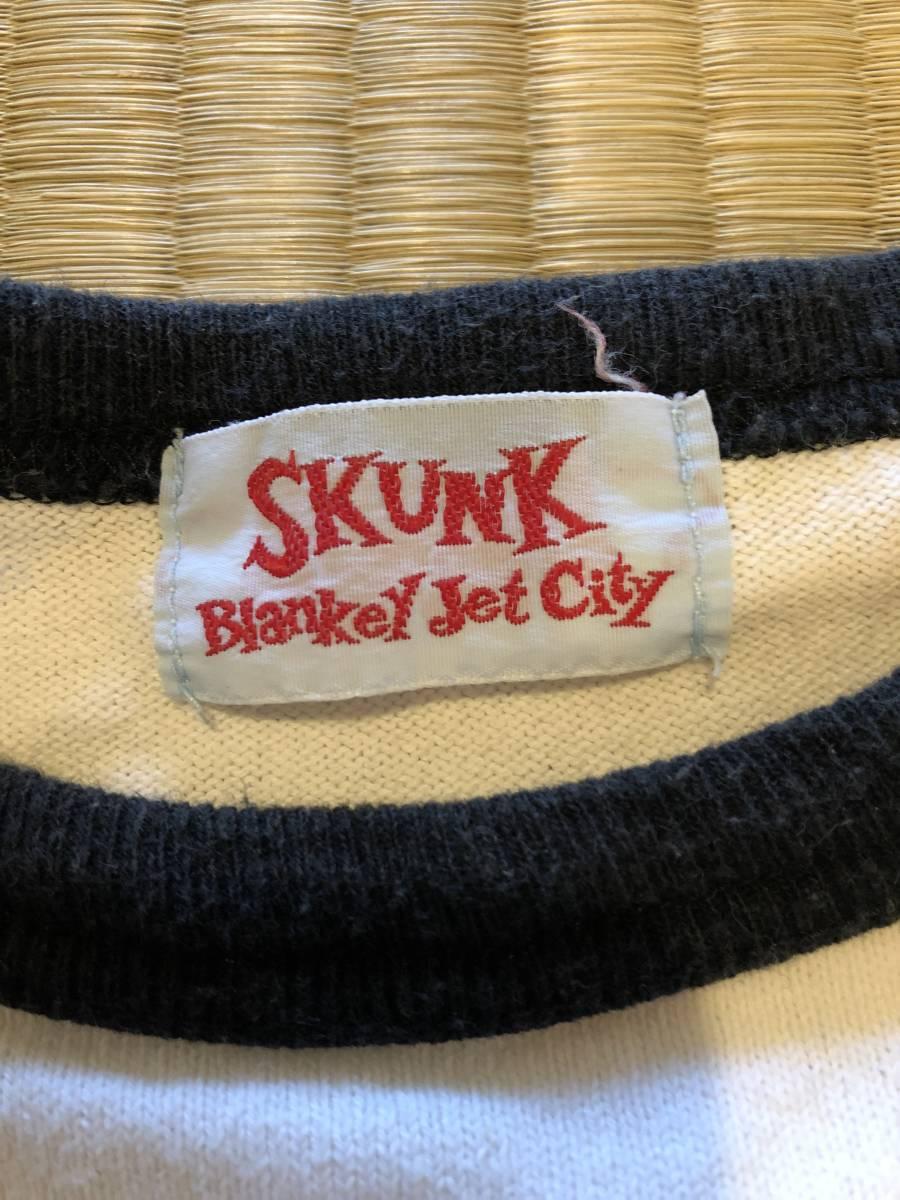 blankey jet city ブランキージェットシティ ラグランスリーブ長袖Tシャツ/C.B.Jim skunk/浅井健一 Jude sherbets_画像6