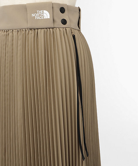 bf975a9d66 HYKE x THE NORTH FACE 19SS pleated skirt lady's tongue M size North Face  high kpleated