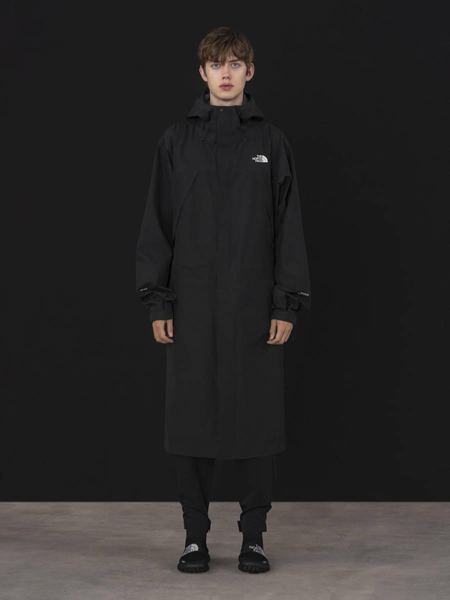 HYKE x THE NORTH FACE 19SS マウンテンコート 黒 メンズ Mサイズ ハイク ノースフェイス GTX GORETEX MOUNTAIN COAT ブラック_画像3