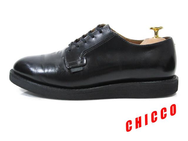 即決★REDWING メンズ 7.5D≒25.5cm ブラック★レッドウィング 101 黒 本革 レザー ポストマン オックスフォード シューズ 米国 USA製 革靴_画像3