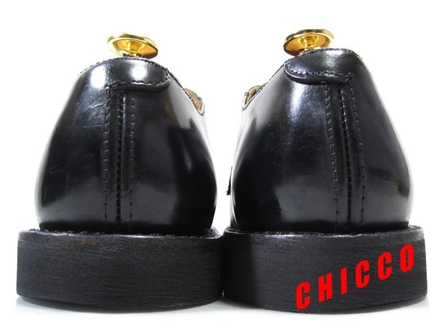 即決★REDWING メンズ 7.5D≒25.5cm ブラック★レッドウィング 101 黒 本革 レザー ポストマン オックスフォード シューズ 米国 USA製 革靴_画像8