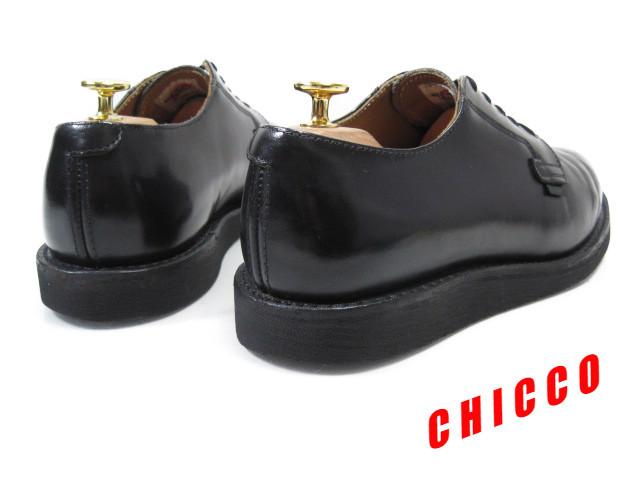 即決★REDWING メンズ 7.5D≒25.5cm ブラック★レッドウィング 101 黒 本革 レザー ポストマン オックスフォード シューズ 米国 USA製 革靴_画像2