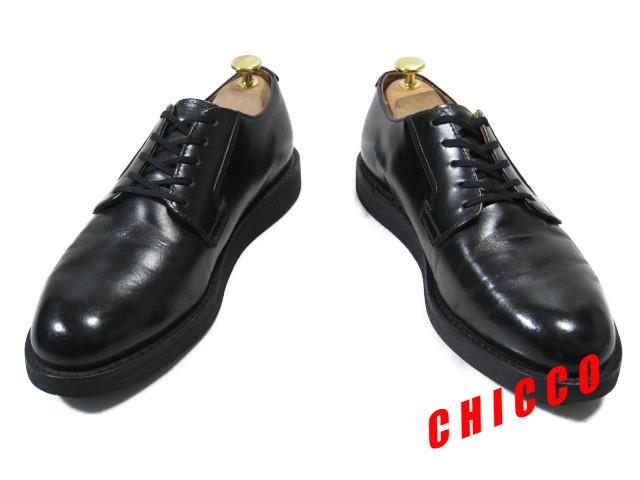 即決★REDWING メンズ 7.5D≒25.5cm ブラック★レッドウィング 101 黒 本革 レザー ポストマン オックスフォード シューズ 米国 USA製 革靴_画像5