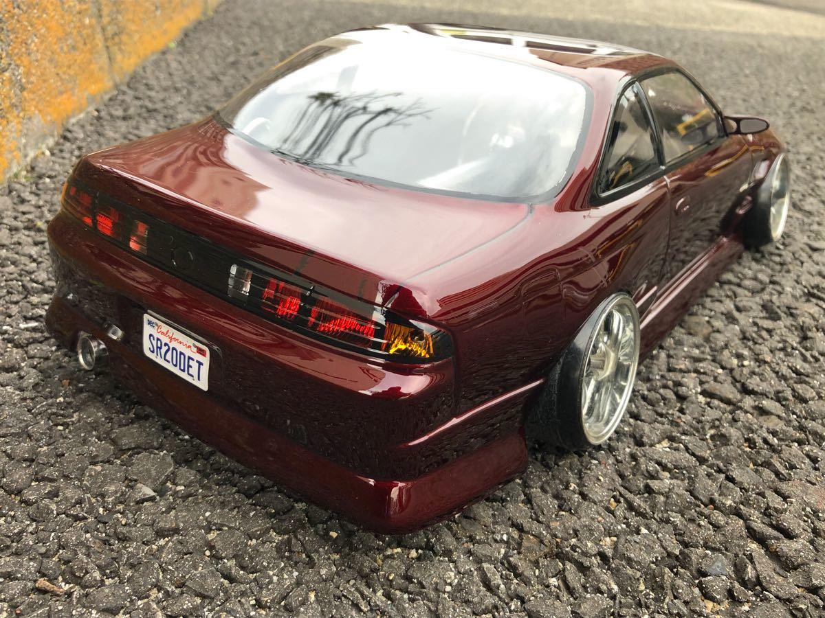 パンドラRC Bn sports S14後期!塗装済未使用!_画像5