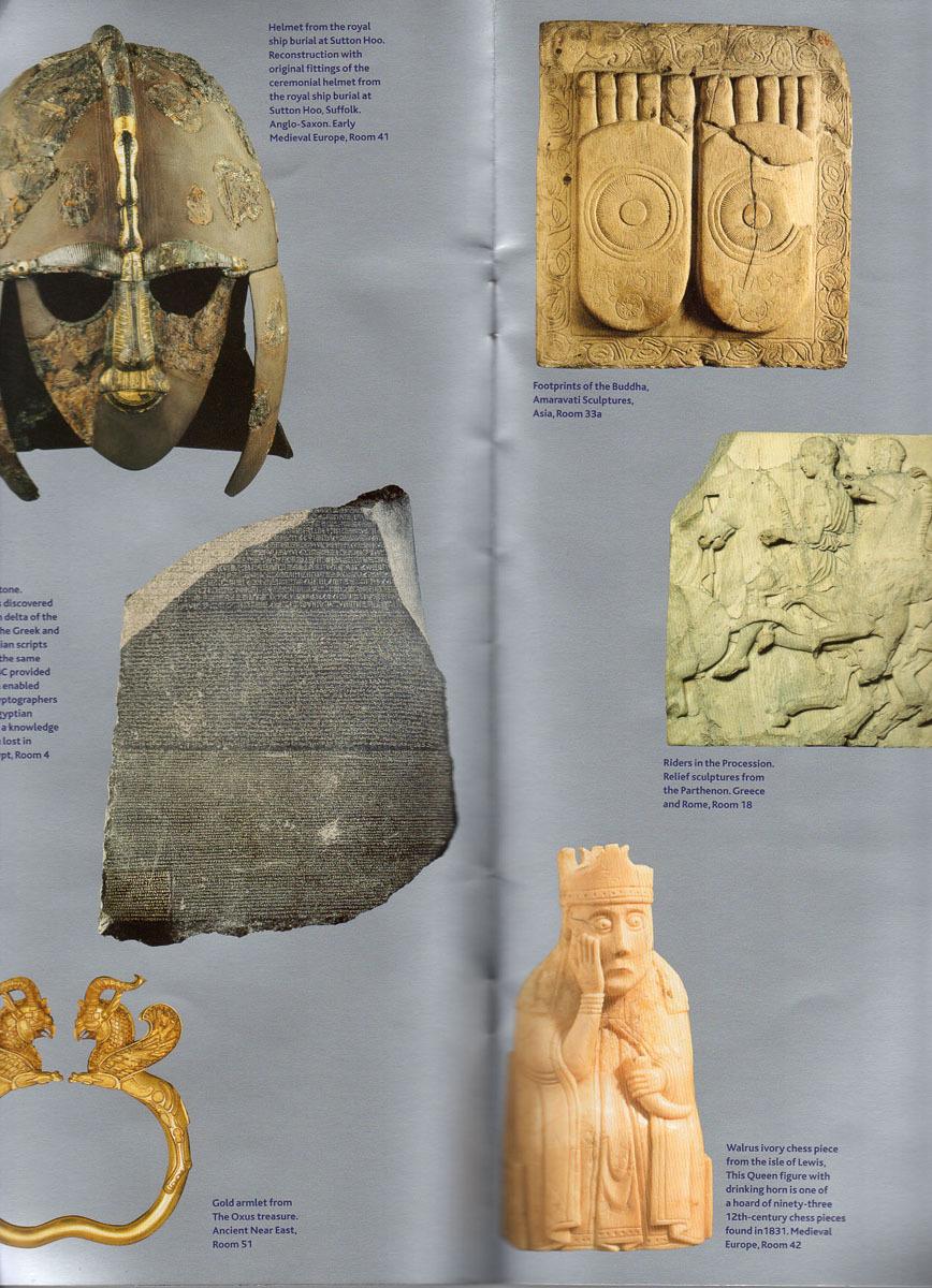 送料無料!イギリスのおみやげ_「大英博物館ガイドブック」_画像2