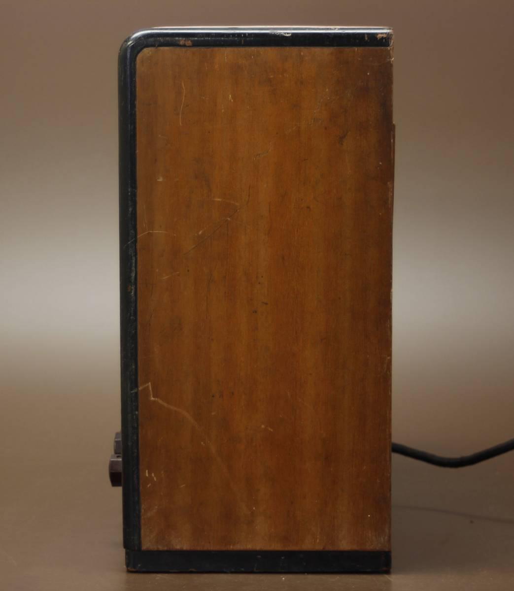 CROWN 480 古い真空管ラジオ ジャンク クラウン_画像3