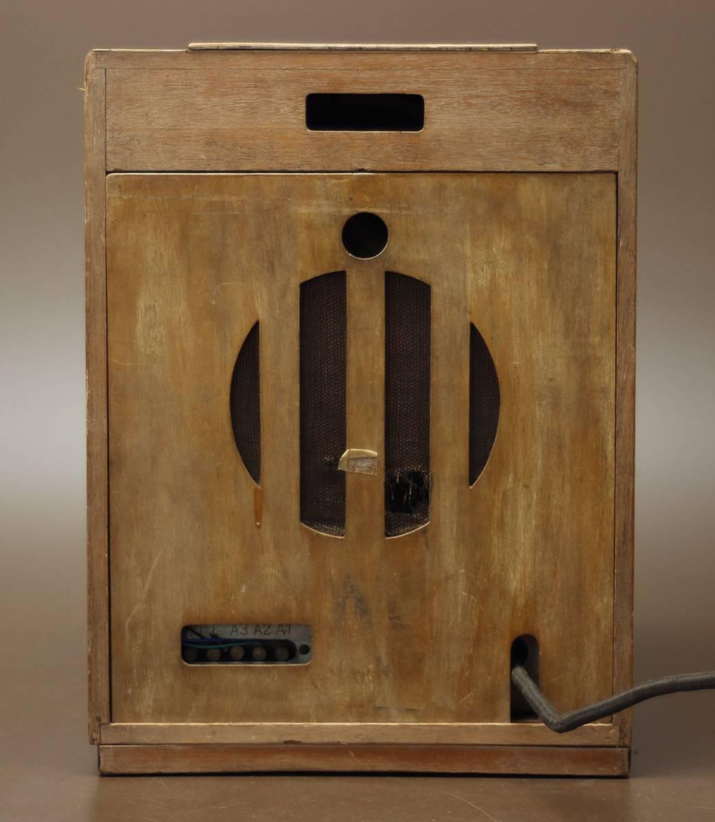 CROWN 480 古い真空管ラジオ ジャンク クラウン_画像4