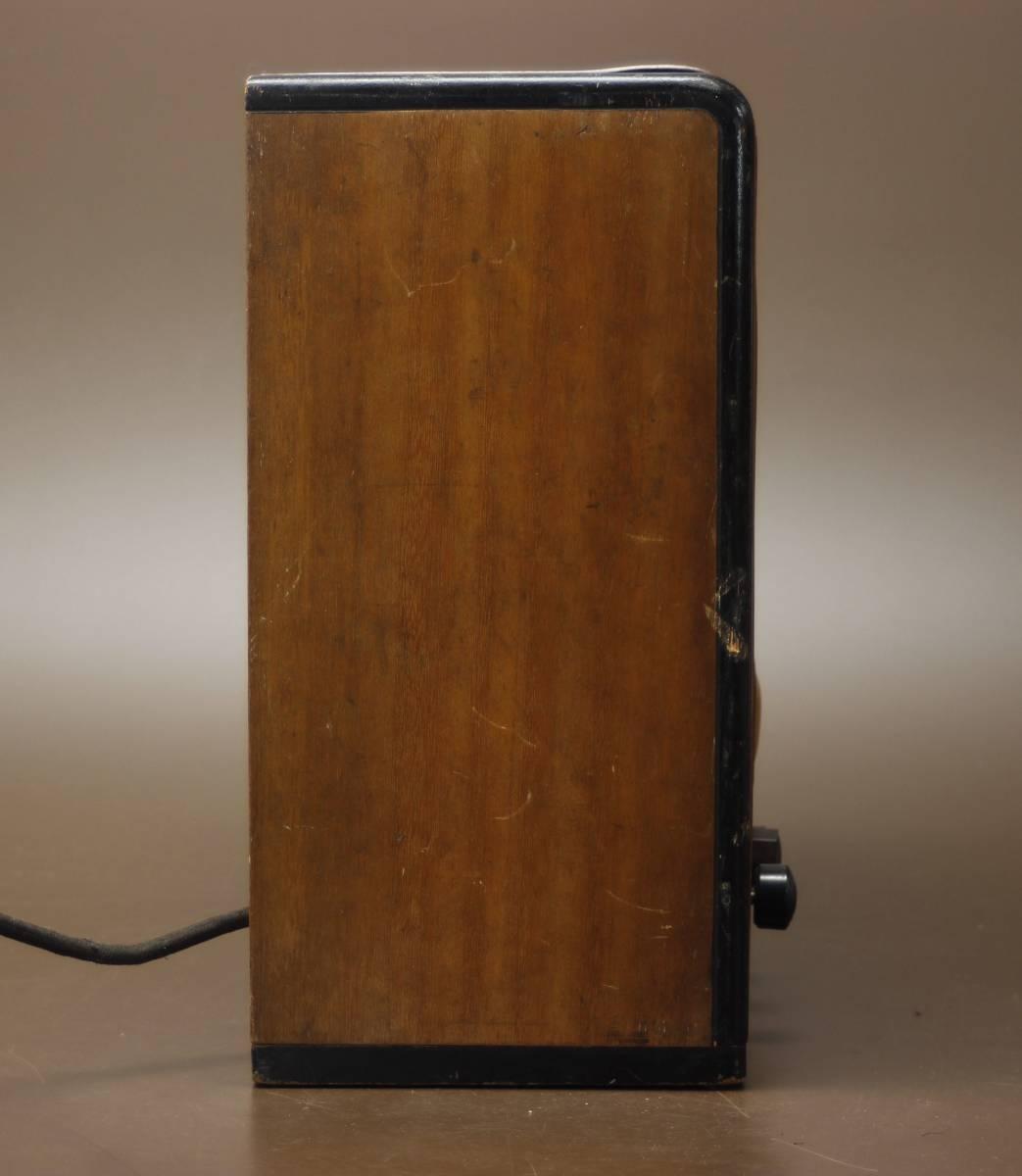 CROWN 480 古い真空管ラジオ ジャンク クラウン_画像9