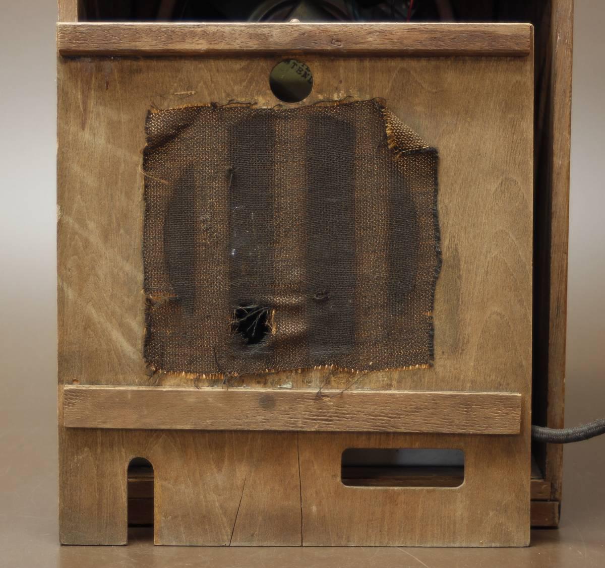 CROWN 480 古い真空管ラジオ ジャンク クラウン_画像8