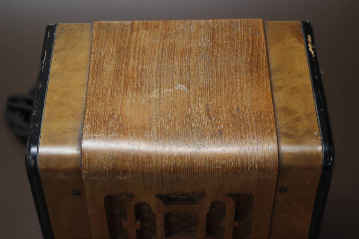 CROWN 480 古い真空管ラジオ ジャンク クラウン_画像10