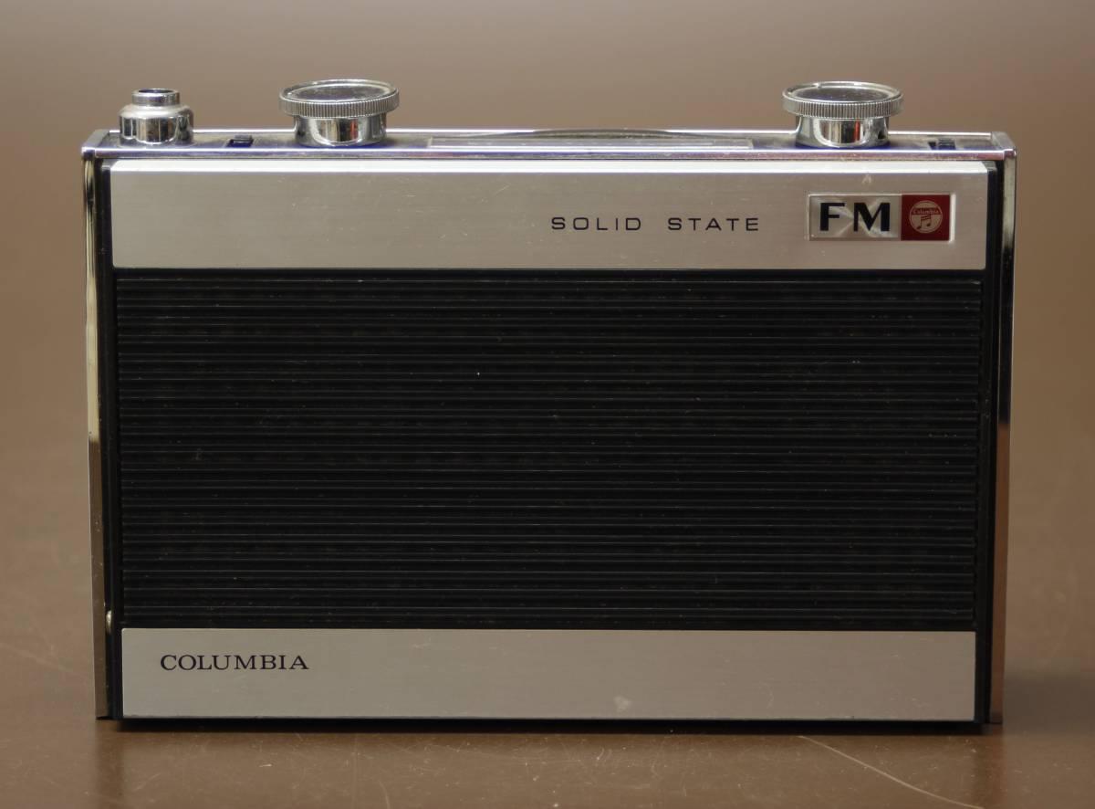 昭和レトロ ラジオ まとめて4点 NATIONAL PANASONIC RF-800D R-807 COLUMBIA TF-21 TOSHIBA RP-77F ジャンク_画像6