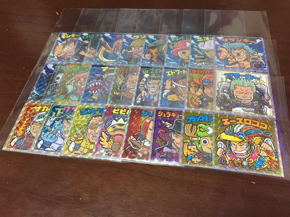 ロッテ ビックリマン × ワンピースマン 新世界/超新星 フルコンプ 48枚 一枚毎にスリーブをお付けします!_画像3
