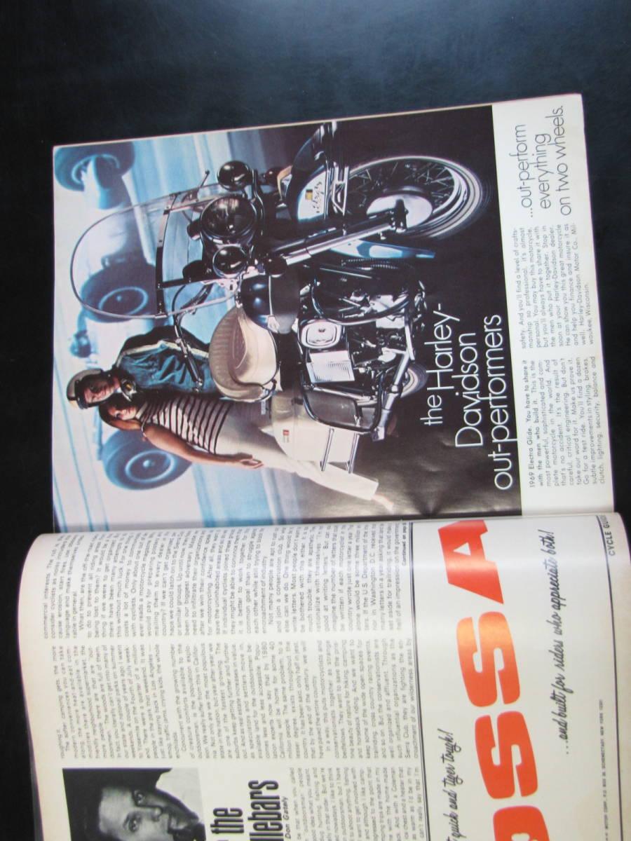 USA 洋書 1969年 7月号 Cycle guide YAMAHA 175 CT1 KAWASAKI 500 HONDA 90 ETC_画像5