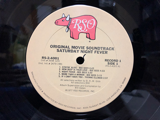 Saturday Night Fever サタデー・ナイト・フィーバー ビージーズ ステイン・アライブ 2枚組_画像4