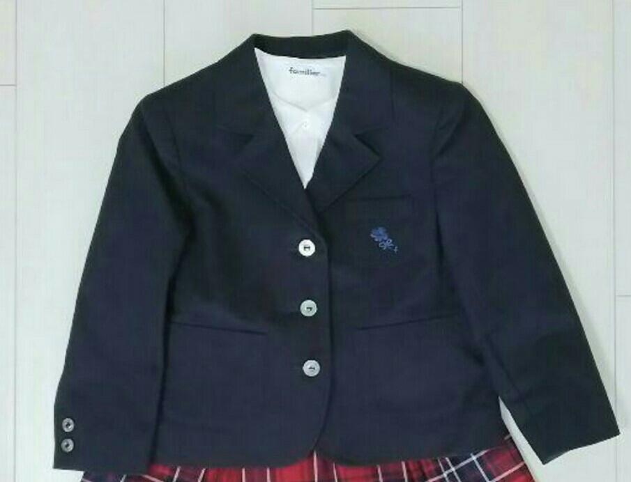 838efbf611544 美品!ファミリアのジャケットと半袖ブラウスの2点セット 110 ...