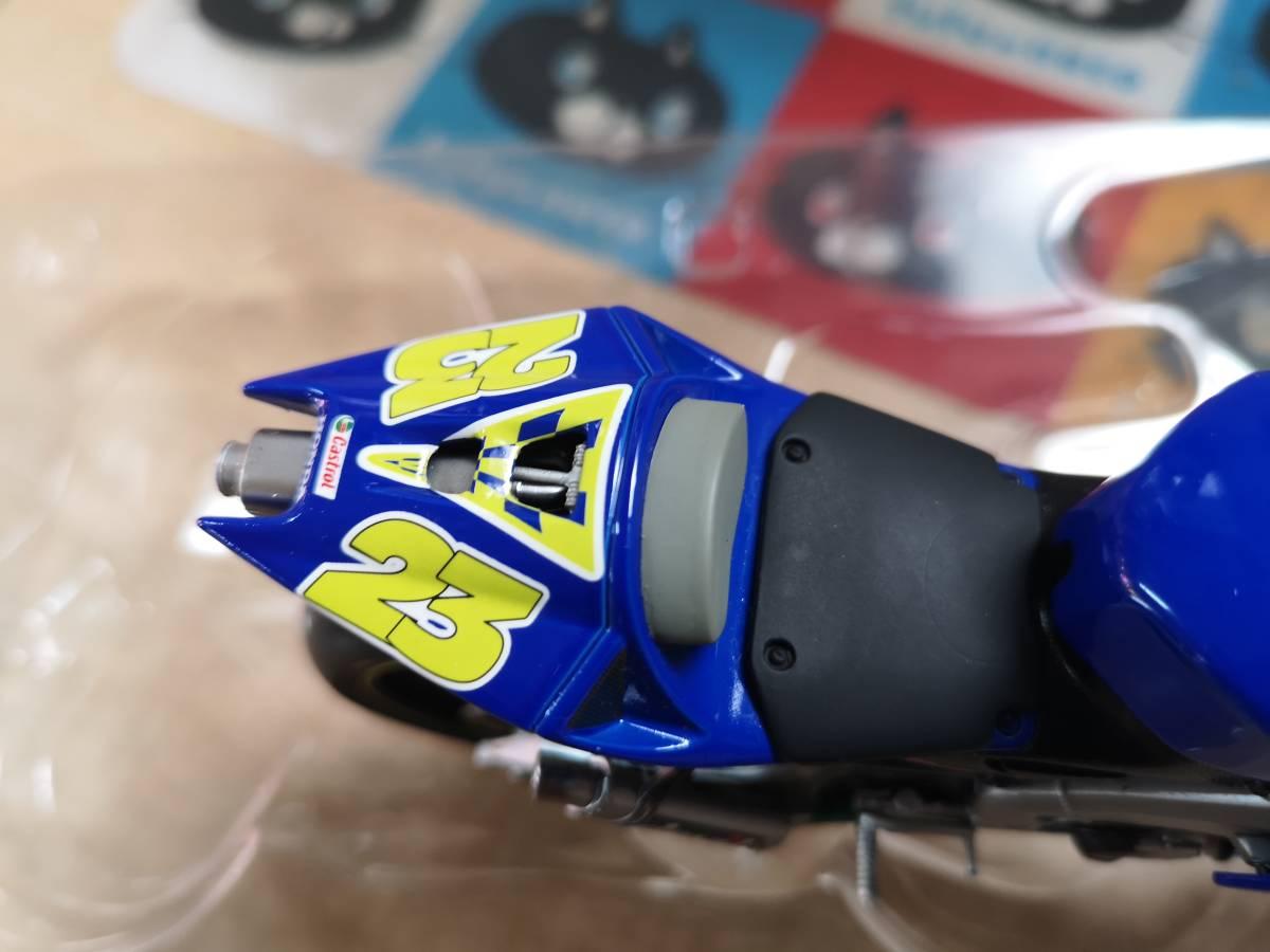 ラストの出品、MINICHAMPS製のRC211Vキヨナリ、龍一2003.Ryuichi.Kiyonari.MotoGP1/12サイズ、ミニチャンプス_画像5