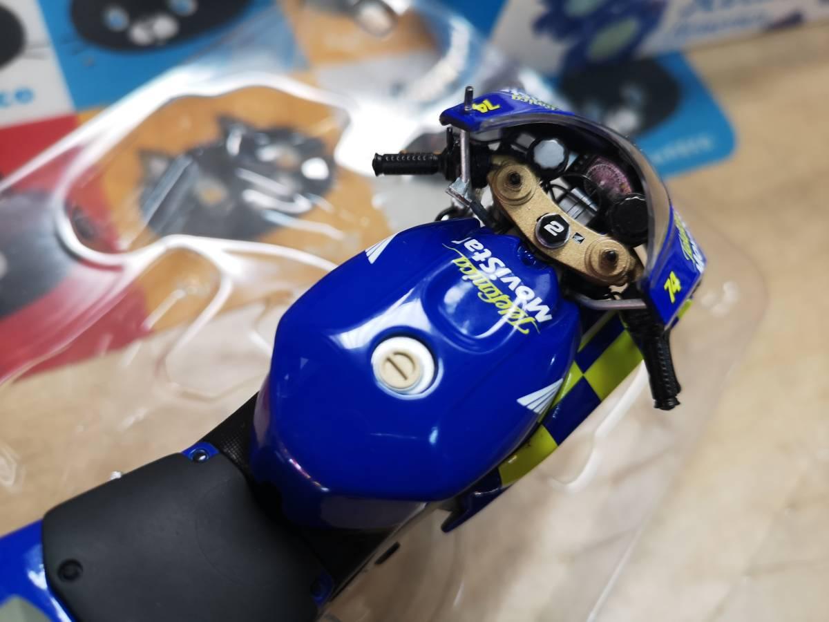 ラストの出品、MINICHAMPS製のRC211Vキヨナリ、龍一2003.Ryuichi.Kiyonari.MotoGP1/12サイズ、ミニチャンプス_画像6
