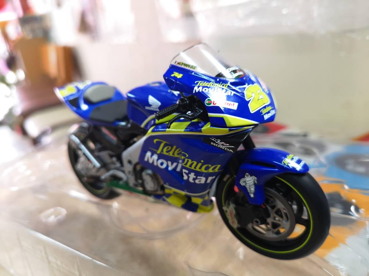 ラストの出品、MINICHAMPS製のRC211Vキヨナリ、龍一2003.Ryuichi.Kiyonari.MotoGP1/12サイズ、ミニチャンプス_画像7
