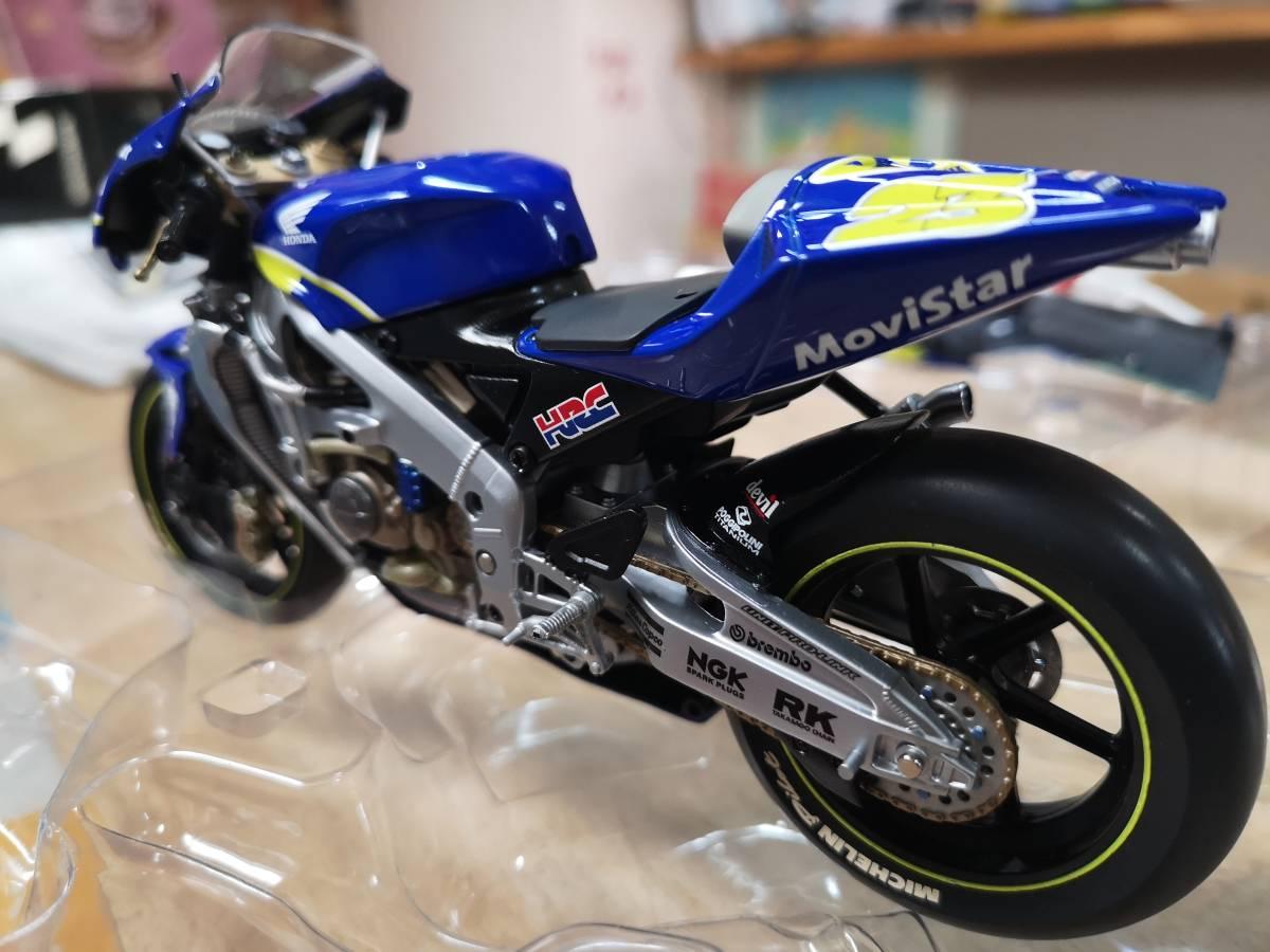 ラストの出品、MINICHAMPS製のRC211Vキヨナリ、龍一2003.Ryuichi.Kiyonari.MotoGP1/12サイズ、ミニチャンプス_画像8