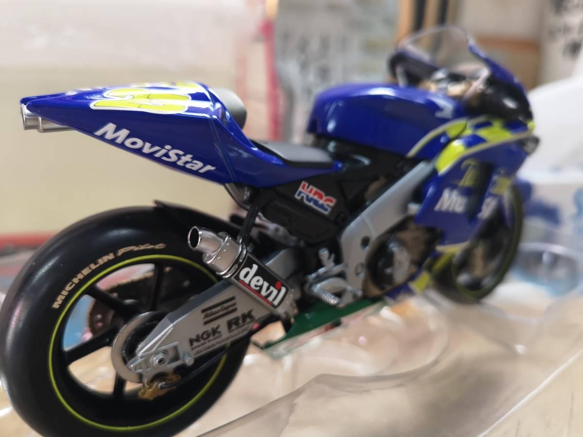 ラストの出品、MINICHAMPS製のRC211Vキヨナリ、龍一2003.Ryuichi.Kiyonari.MotoGP1/12サイズ、ミニチャンプス_画像9