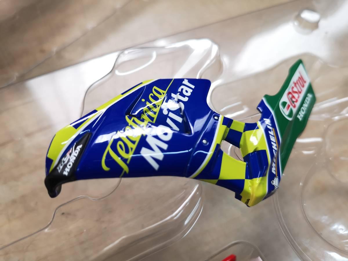 ラストの出品、MINICHAMPS製のRC211Vキヨナリ、龍一2003.Ryuichi.Kiyonari.MotoGP1/12サイズ、ミニチャンプス_画像10