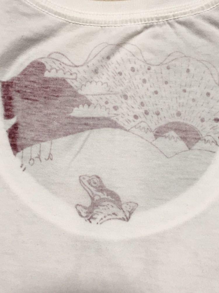 aroundaglobe ホワイト 長袖Tシャツ ネペンテス ワイルド 食虫植物 サボテン ヒョウ カエル ドクロ_画像7